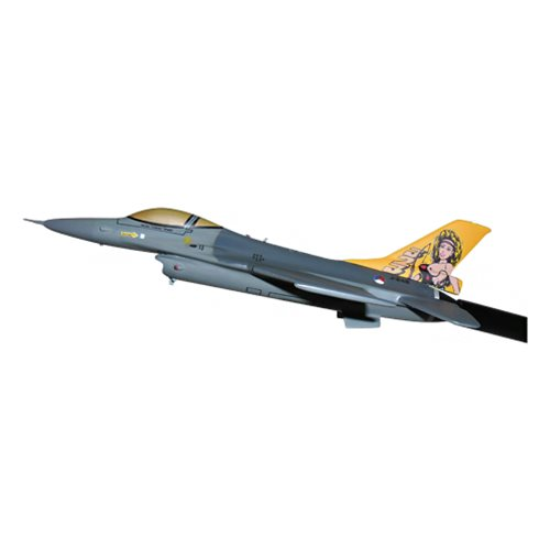Royal Netherlands Air Force 323 SQN F-16A/B Custom Airplane Model Briefing Sticks - View 2