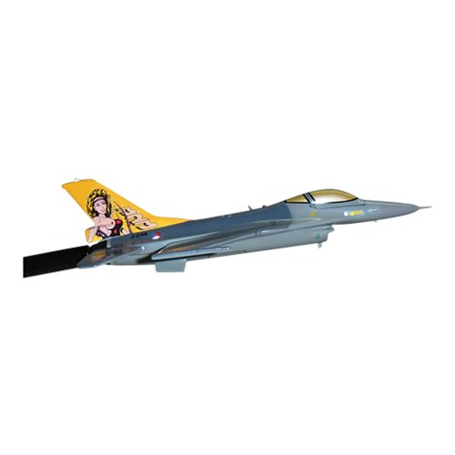 Royal Netherlands Air Force 323 SQN F-16A/B Custom Airplane Model Briefing Sticks - View 3