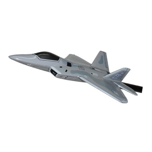 94 FS F-22A Raptor Custom Airplane Model Briefing Stick