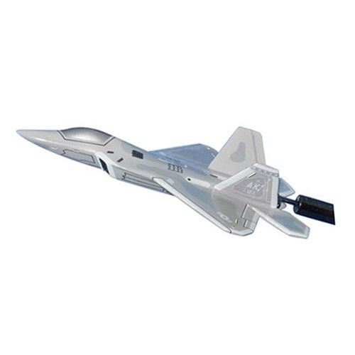 525 FS F-22A Raptor Custom Airplane Model Briefing Stick