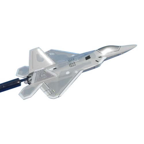 525 FS F-22A Raptor Custom Airplane Model Briefing Stick - View 2