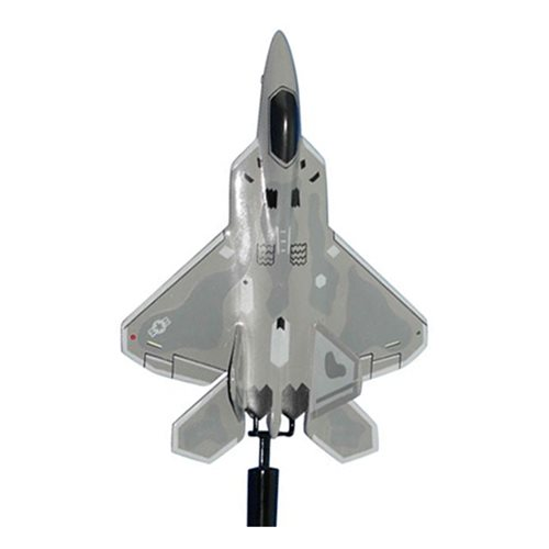 525 FS F-22A Raptor Custom Airplane Model Briefing Stick - View 3