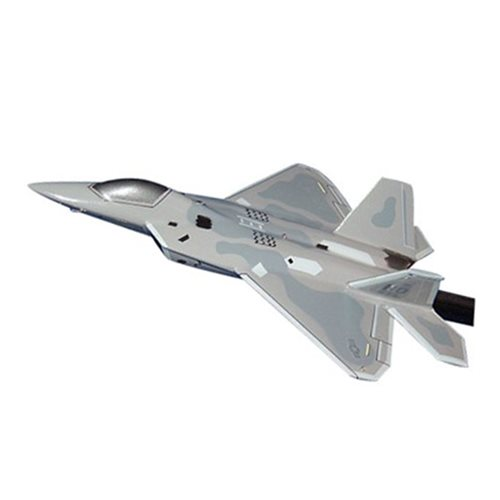8 FS F-22A Raptor Custom Airplane Model Briefing Stick
