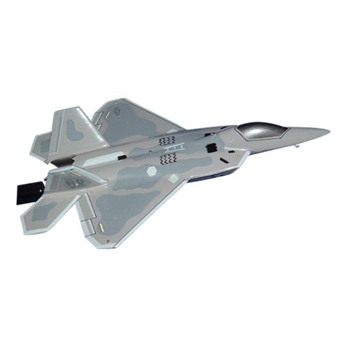 8 FS F-22A Raptor Custom Airplane Model Briefing Stick - View 2