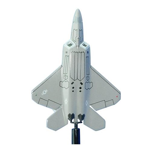 49 OG F-22A Raptor Custom Airplane Model Briefing Stick - View 3