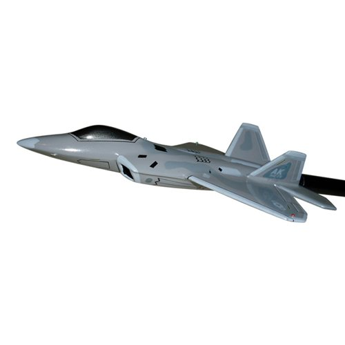 302 FS F-22A Raptor Custom Airplane Model Briefing Stick - View 2