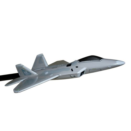 302 FS F-22A Raptor Custom Airplane Model Briefing Stick - View 3