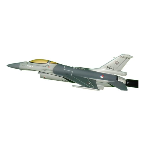 Royal Netherlands Air Force 312 SQN F-16A/B Custom Airplane Model Briefing Sticks - View 2