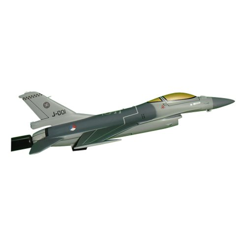 Royal Netherlands Air Force 312 SQN F-16A/B Custom Airplane Model Briefing Sticks - View 3