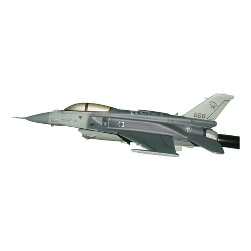 Republic of Singapore Air Force 145 SQN F-16D Custom Airplane Model Briefing Sticks - View 2