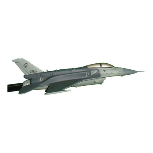 Republic of Singapore Air Force 145 SQN F-16D Custom Airplane Model Briefing Sticks - View 3