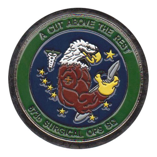 673 MSGS Custom Air Force Challenge Coin