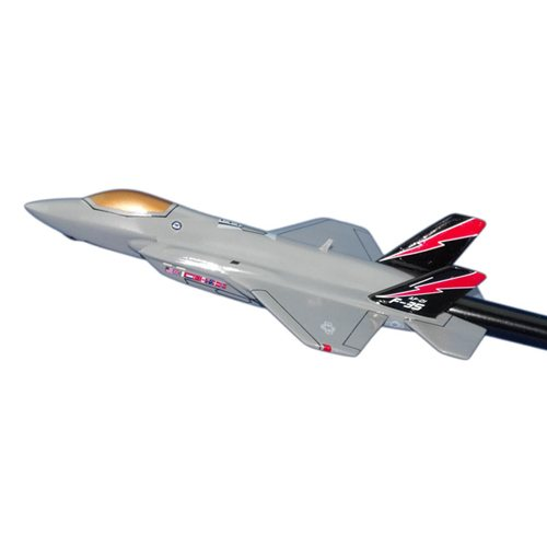 461 FLTS F-35A Lightning II Custom Briefing Stick