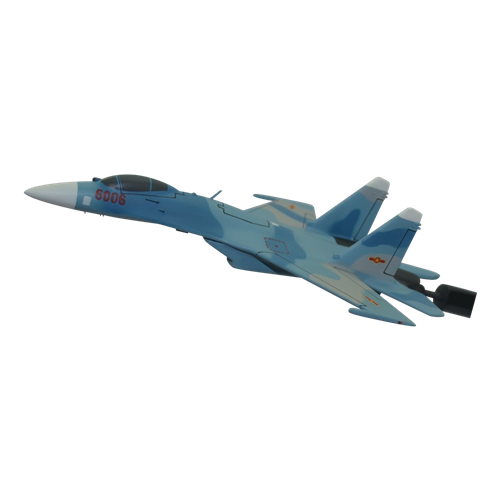 Vietnam People's Air Force SU-27 Custom Airplane Briefing Stick