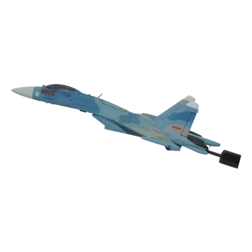 Vietnam People's Air Force SU-27 Custom Airplane Briefing Stick  - View 2