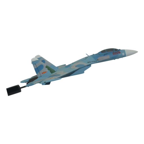 Vietnam People's Air Force SU-27 Custom Airplane Briefing Stick  - View 3