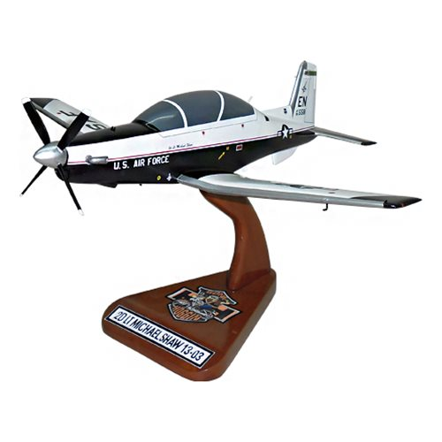 459 FTS T-6A Texan II Custom Airplane Model