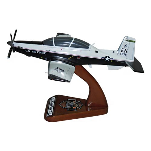 459 FTS T-6A Texan II Custom Airplane Model  - View 2