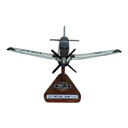 459 FTS T-6A Texan II Custom Airplane Model  - View 3
