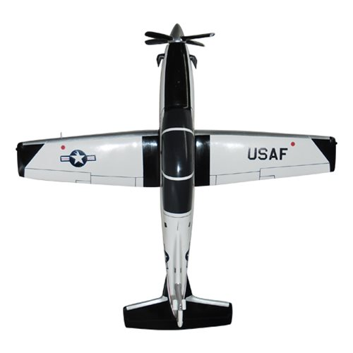 459 FTS T-6A Texan II Custom Airplane Model  - View 5
