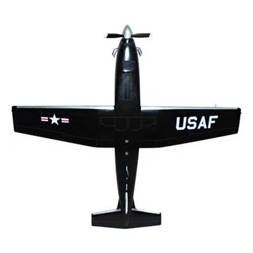 459 FTS T-6A Texan II Custom Airplane Model  - View 6