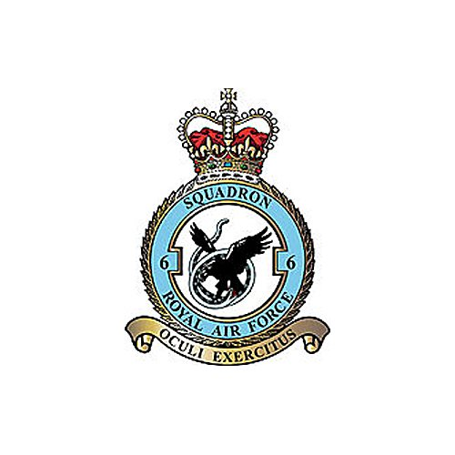 (No.6 Squadron Royal Air Force Typhoon) Airplane Briefing Stick
