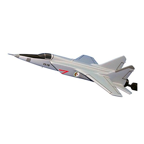 Algerian Air Force MiG-31 Foxhound Custom Airplane Model Briefing Stick
