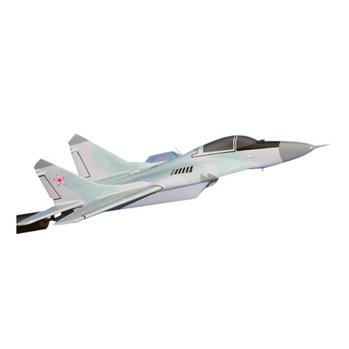 Algerian Air Force MiG-31 Foxhound Custom Airplane Model Briefing Stick - View 2