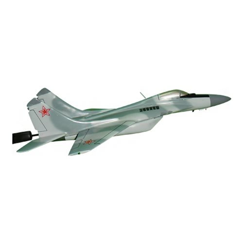 Russian Air Force MiG-29 Fulcrum Custom Airplane Model Briefing Sticks - View 3