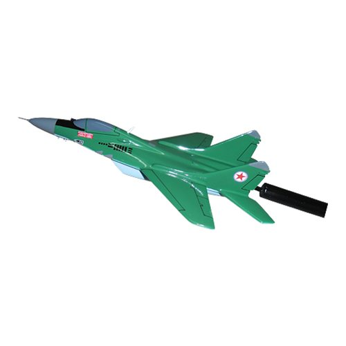 North Korean Air Force MiG-29 Fulcrum Custom Airplane Model Briefing Sticks - View 5
