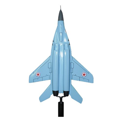 North Korean Air Force MiG-29 Fulcrum Custom Airplane Model Briefing Sticks - View 8