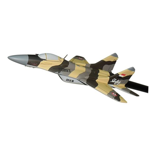 Yemen Air Force MiG-29 Fulcrum Custom Airplane Model Briefing Sticks