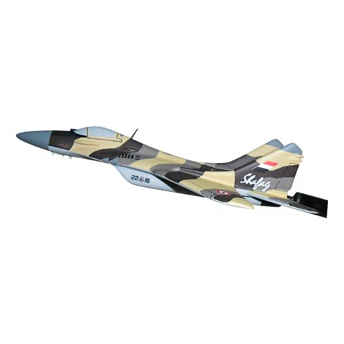 Yemen Air Force MiG-29 Fulcrum Custom Airplane Model Briefing Sticks - View 2