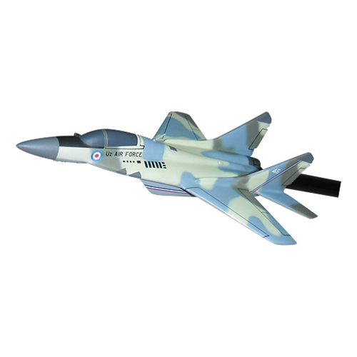 Uzbekistan Air Force MiG-29 Fulcrum Custom Airplane Model Briefing Sticks