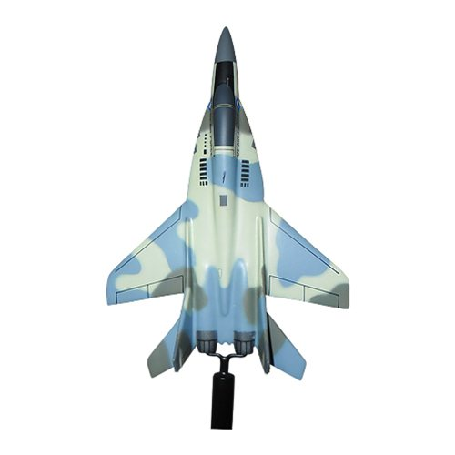 Uzbekistan Air Force MiG-29 Fulcrum Custom Airplane Model Briefing Sticks  - View 4