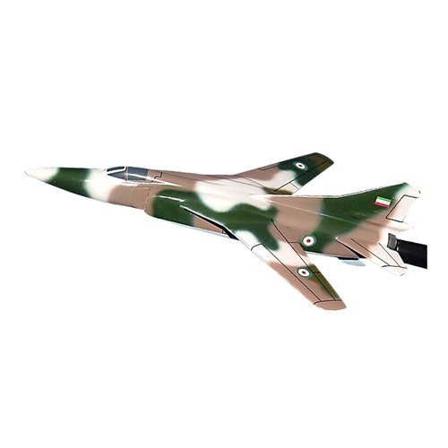 Iran Air Force MiG-23 Flogger Custom Airplane Model Briefing Sticks