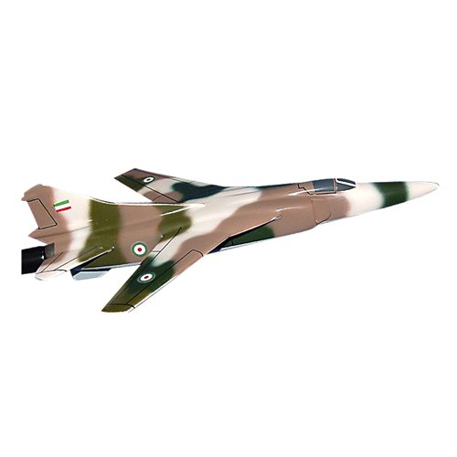 Iran Air Force MiG-23 Flogger Custom Airplane Model Briefing Sticks - View 2