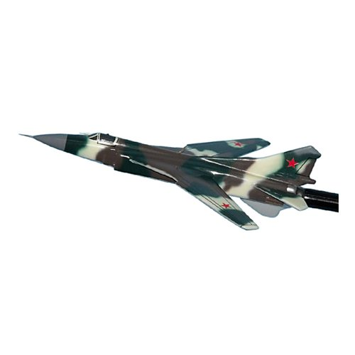 Russian Air Force MiG-23 Flogger Custom Airplane Model Briefing Sticks