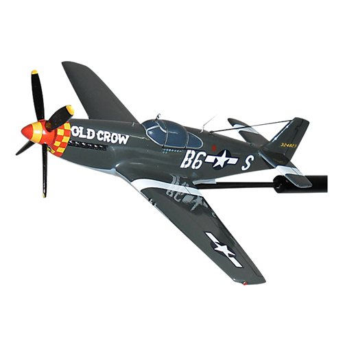 Old Crow P-51B Mustang Briefing Stick