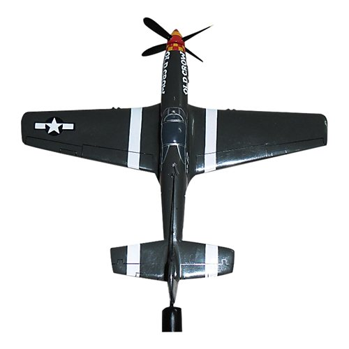 Old Crow P-51B Mustang Briefing Stick - View 3