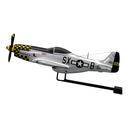 Double Trouble P-51D Custom Airplane Model Briefing Sticks