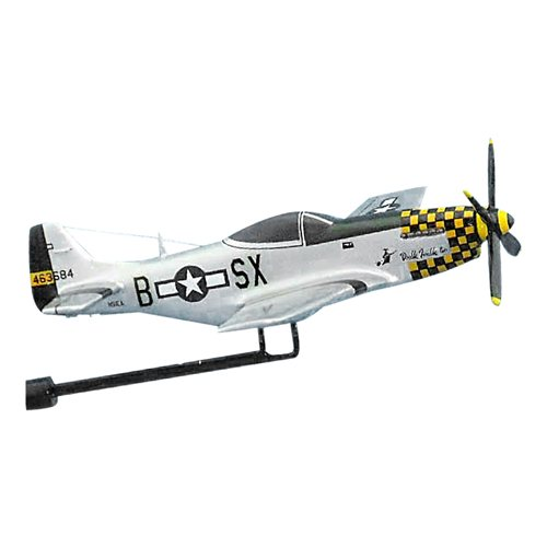 Double Trouble P-51D Custom Airplane Model Briefing Sticks - View 2