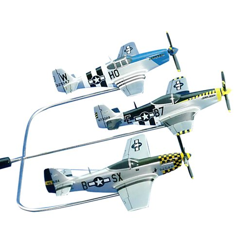 The HorsemenP-51 Custom Airplane Model Briefing Sticks - View 2