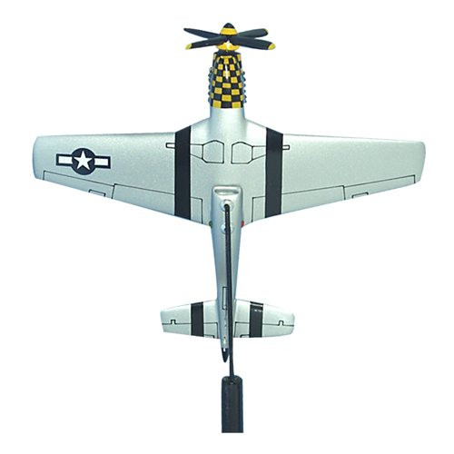 The Little Witch P-51D Custom Airplane Model Briefing Sticks - View 3