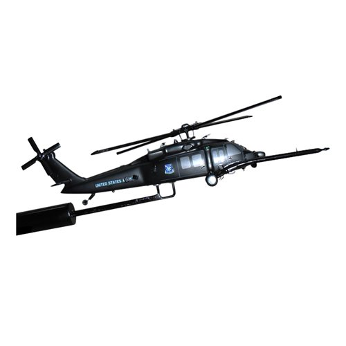 MH-60K 160 SOAR Pave Hawk Custom Airplane Model Briefing Stick - View 3