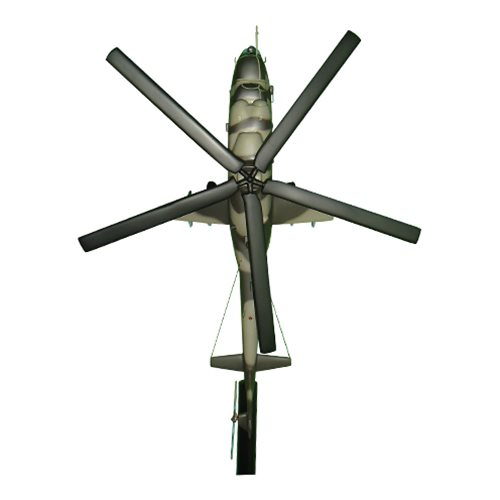 Korean People's Army Air Force Mi-24 Custom Airplane Briefing Stick - View 3