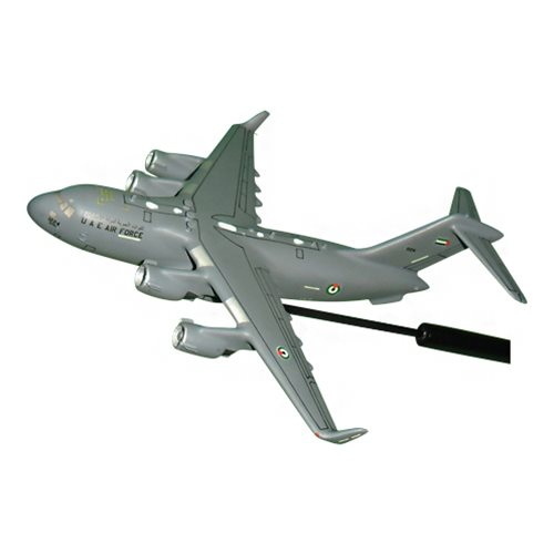 United Arab Emirates Air Force C-17 Globemaster III Custom Airplane Model Briefing Stick