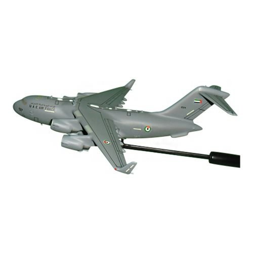 United Arab Emirates Air Force C-17 Globemaster III Custom Airplane Model Briefing Stick - View 2