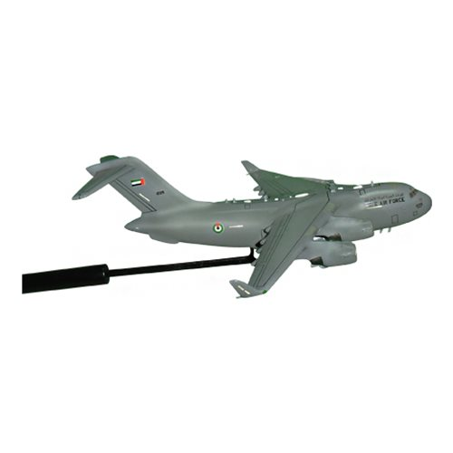 United Arab Emirates Air Force C-17 Globemaster III Custom Airplane Model Briefing Stick - View 3