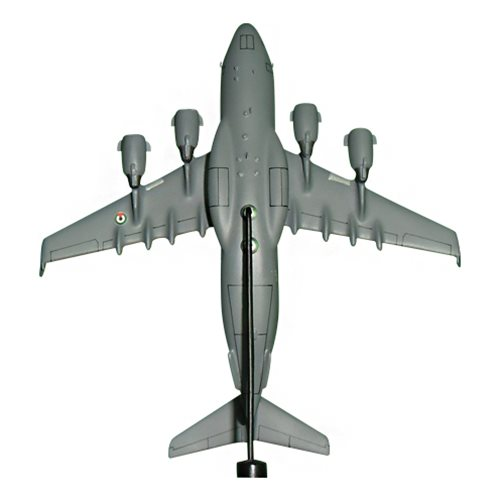 United Arab Emirates Air Force C-17 Globemaster III Custom Airplane Model Briefing Stick - View 5